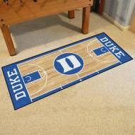 Duke Blue Devils Basketball Court Runner Rug