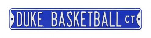 Duke Blue Devils Basketball Street Sign