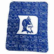 Duke Blue Devils Classic Fleece Blanket