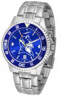 Duke Blue Devils Competitor Steel AnoChrome Color Bezel Men's Watch