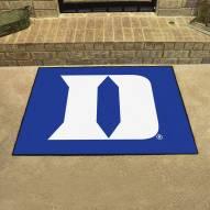 """Duke Blue Devils """"D"""" All-Star Mat"""