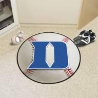 """Duke Blue Devils """"D"""" Baseball Rug"""