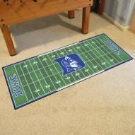 """Duke Blue Devils """"D"""" Football Field Runner Rug"""
