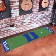 """Duke Blue Devils """"D"""" Golf Putting Green Mat"""