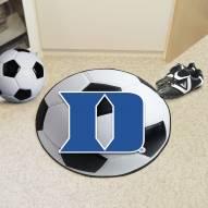 """Duke Blue Devils """"D"""" Soccer Ball Mat"""