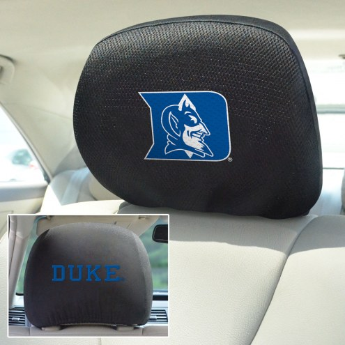 Duke Blue Devils Headrest Covers