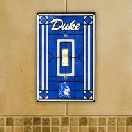 Duke Blue Devils Glass Single Light Switch Plate Cover