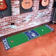 Duke Blue Devils Golf Putting Green Mat
