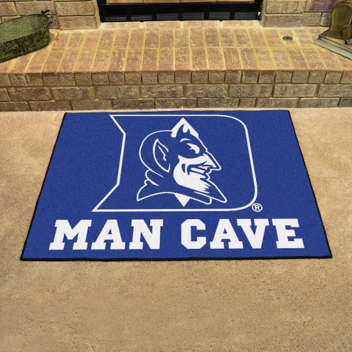 Duke Blue Devils Man Cave All-Star Rug