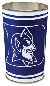 Duke Blue Devils Metal Wastebasket