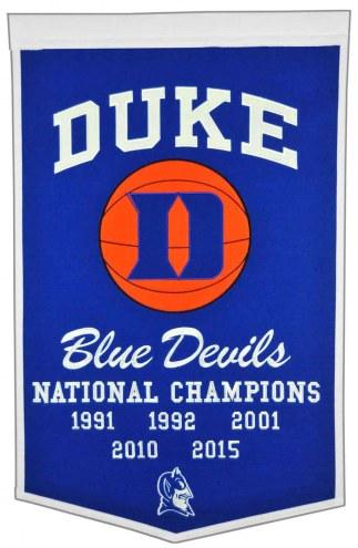 Duke Blue Devils NCAA Basketball Dynasty Banner