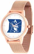Duke Blue Devils Rose Mesh Statement Watch