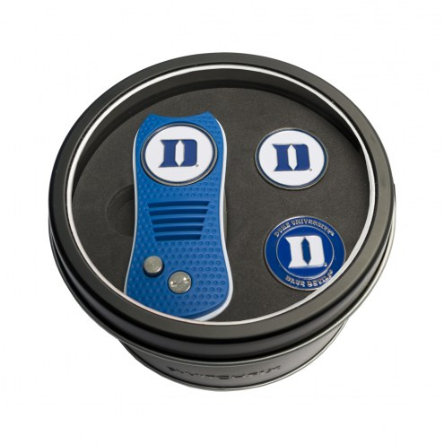 Duke Blue Devils Switchfix Golf Divot Tool & Ball Markers
