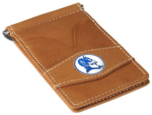 Duke Blue Devils Tan Player's Wallet