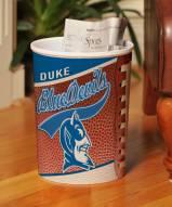 Duke Blue Devils Trash Can