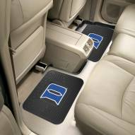 Duke Blue Devils Vinyl 2-Piece Rear Floor Mats