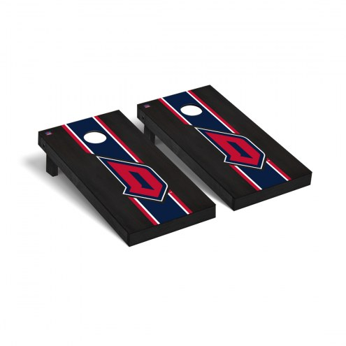 Duquesne Dukes Onyx Stained Cornhole Game Set