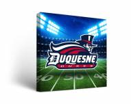 Duquesne Dukes Stadium Canvas Wall Art