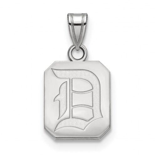 Duquesne Dukes Sterling Silver Small Pendant
