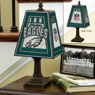 Philadelphia Eagles NFL Hand-Painted Art Glass Table Lamp
