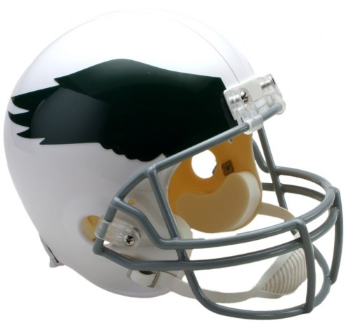 Riddell Philadelphia Eagles 1969-73 Deluxe Collectible Throwback NFL Football Helmet