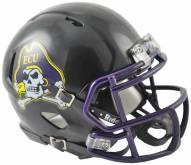 East Carolina Pirates Riddell Speed Mini Collectible Black Football Helmet