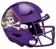 "East Carolina Pirates 12"" Helmet Sign"