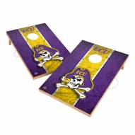 East Carolina Pirates 2' x 3' Vintage Wood Cornhole Game