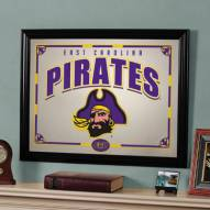 "East Carolina Pirates 23"" x 18"" Mirror"
