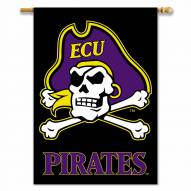 """East Carolina Pirates 28"""" x 40"""" Two-Sided Banner"""