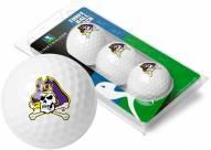 East Carolina Pirates 3 Golf Ball Sleeve