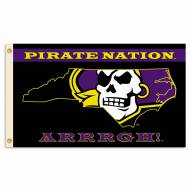 East Carolina Pirates 3' x 5' Nation Flag