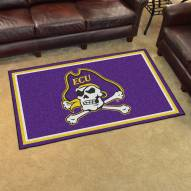 East Carolina Pirates 4' x 6' Area Rug