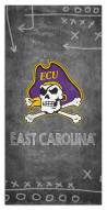 "East Carolina Pirates 6"" x 12"" Chalk Playbook Sign"