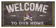 "East Carolina Pirates 6"" x 12"" Welcome Sign"