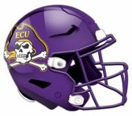 East Carolina Pirates Authentic Helmet Cutout Sign
