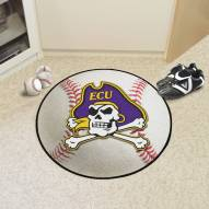 East Carolina Pirates Baseball Rug