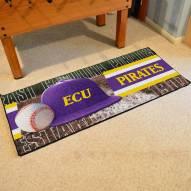 East Carolina Pirates Baseball Runner Rug