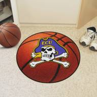 East Carolina Pirates Basketball Mat