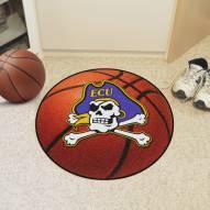 East Carolina Pirates Basketball Mat