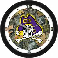 East Carolina Pirates Camo Wall Clock