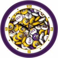 East Carolina Pirates Candy Wall Clock