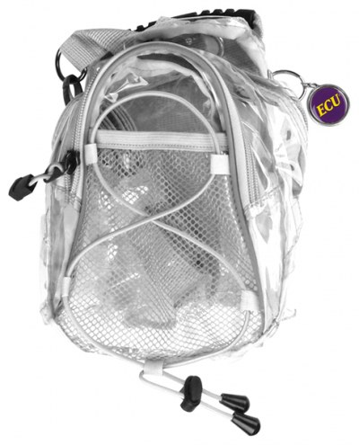East Carolina Pirates Clear Event Day Pack