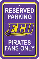 East Carolina Pirates College Parking Sign