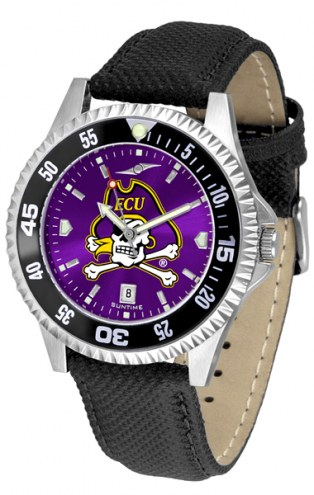 East Carolina Pirates Competitor AnoChrome Men's Watch - Color Bezel