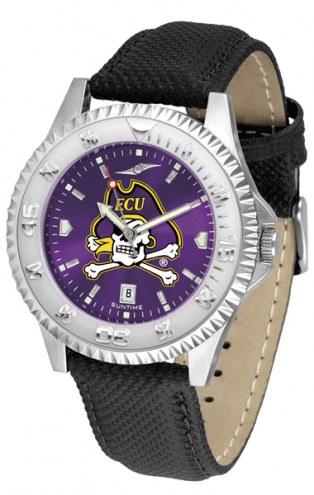 East Carolina Pirates Competitor AnoChrome Men's Watch