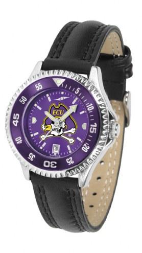 East Carolina Pirates Competitor AnoChrome Women's Watch - Color Bezel