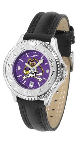 East Carolina Pirates Competitor AnoChrome Women's Watch