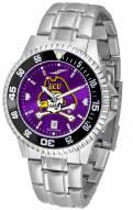 East Carolina Pirates Competitor Steel AnoChrome Color Bezel Men's Watch