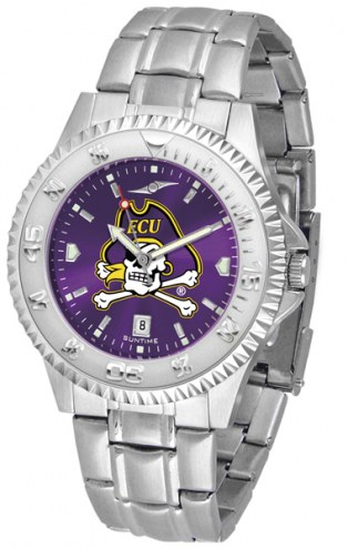 East Carolina Pirates Competitor Steel AnoChrome Men's Watch